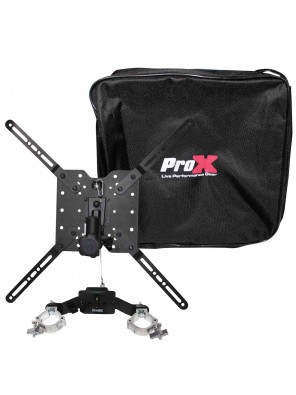 "ProX XT-SSTM3260 Universal TV/Monitor Mount for 12"" Truss or Speaker Stands"