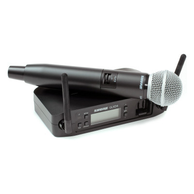 Shure GLXD24/SM58 Wireless Vocal Wireless System with SM58 Handheld Microphone