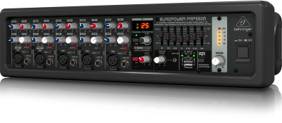 Behringer PMP550M Europower 500-Watts 5-Channel Powered Mixer