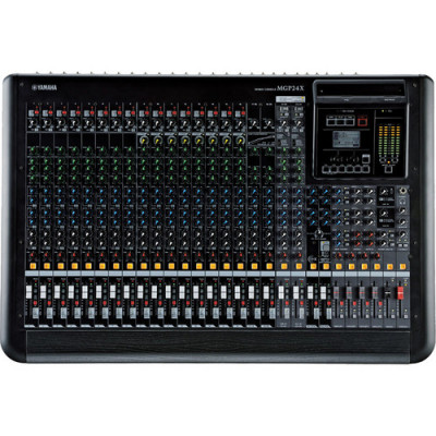 Yamaha MGP24X 24-Input Hybrid Digital/Analog Mixer with USB Rec/Play & Effects
