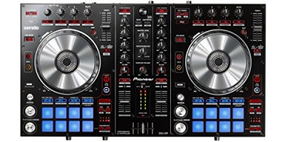 Pioneer DJ DDJ-SR Bus-Powered 4-Deck DJ Controller w/ 2-Channel Mixer & Serato