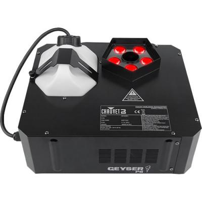 CHAUVET DJ Geyser P5 RGBA+UV LED Pyrotechnic-Like Effect Fog Machine