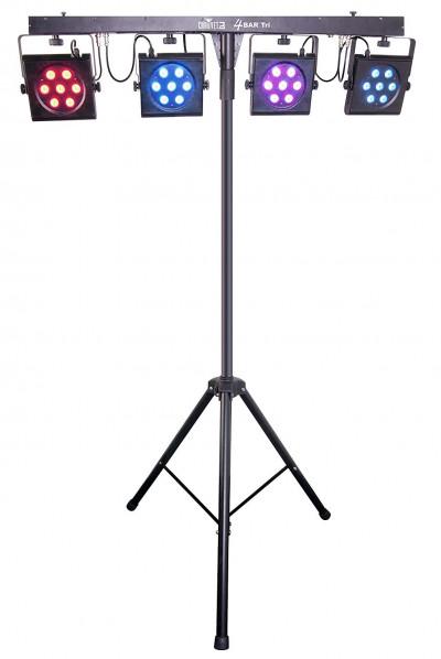 Chauvet DJ 4BAR Tri USB 4 x RGB Par System w/ Stand