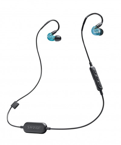 Shure SE215SPE-B-BT1 Wireless Sound Isolating Earphones with Bluetooth