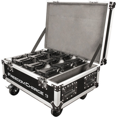 CHAUVET DJ Freedom Charge 9 Rolling Case (Black)