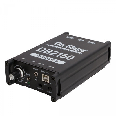 On-Stage DB2150 Stereo USB DI Box