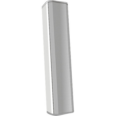 QSC AcousticDesign Series 8-Driver Column Surface-Mount Loudspeaker (White)