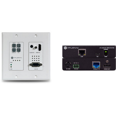 Atlona Technologies 4K-HDVS-WP-EXT 4K HDMI/VGA