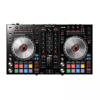 Pioneer DJ DDJ-SR2 Bus-Powered 4-Deck DJ Controller w/ 2-Channel Mixer & Serato