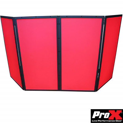 ProX XF-GLOPRO 4XFC GloPro 4 Panel LED Facade Package With Flight Case