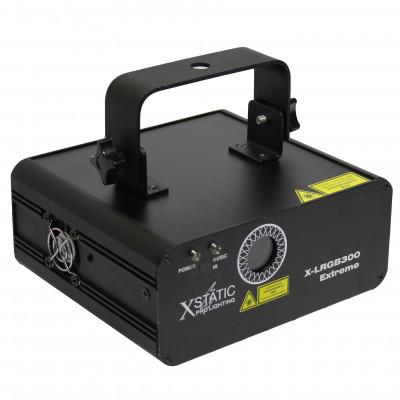 ProX X-LRGB300IRC Extreme 300MW RGB Laser Auto Sound & DMX512