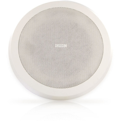 QSC AD-C821R System High-Output Ceiling Mount Loudspeaker (Round Grille)
