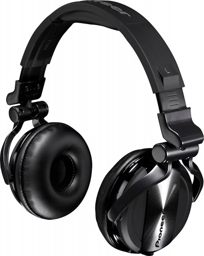 Pioneer HDJ-1500-K Professional DJ Headphones - Black Chrome