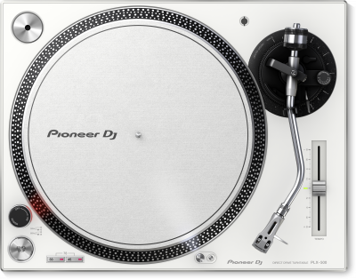 Pioneer PLX-500-W Direct-Drive Professional Turntable
