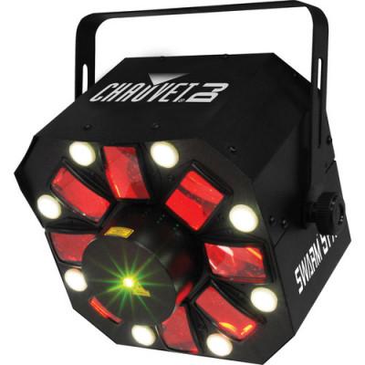 Chauvet Swarm 5 FX 3-in-1 LED Moonflower, RG Laser & Strobe Light