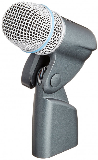 Shure BETA 56A Supercardioid Swivel-Mount Dynamic Microphone w/Neodymium Element