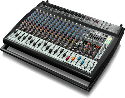 Behringer PMP6000 20-Channel 1600-Watts Powered Mixer with Dual Effects