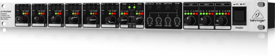 Behringer Ultrazone ZMX8210 - 3-Zone Commercial Audio Mixer with 8-In Ch