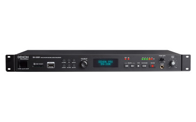 Denon DN-300R Solid-State SD/USB Audio Recorder