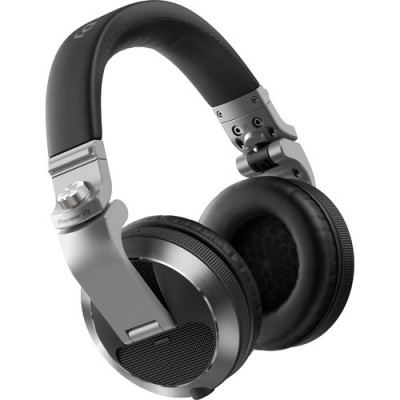 Pioneer DJ HDJ-X7 Professional Over-Ear DJ Headphones (Silver)