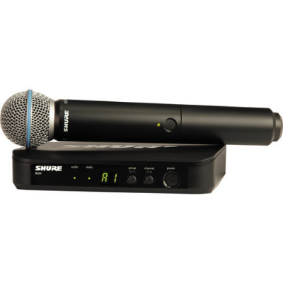Shure BLX24/B58 Handheld Wireless System with Beta 58A Microphone