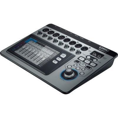 QSC TouchMix-8 Compact 8-Channel Digital Mixer with Touchscreen
