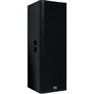 "QSC E215 - Dual 15"" Two-Way Passive Loudspeaker (Black)"