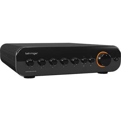 Behringer Eurocom SN2108 80-Watt Mixer and Amplifier with 70-Volt Output