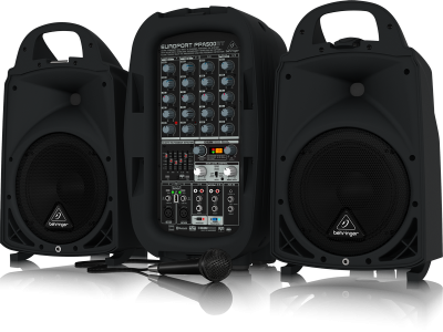 Behringer Europort PPA500BT 500w PA System