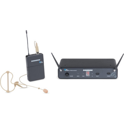 Samson Concert 88 Earset, 16-Channel True Diversity UHF Wireless System