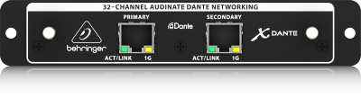 Behringer X-DANTE High-Performance 32-Ch Audinate Dante Expansion Card for X32