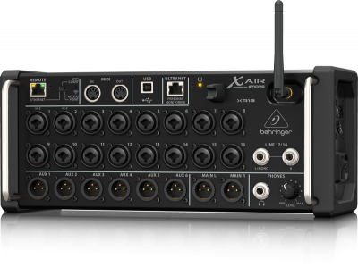 Behringer XR18 X AIR 18-Input StageBox/Rackmount Digital Mixer for iPad/Android