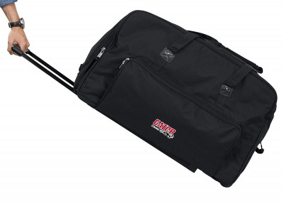 "Gator GPA-715 - Rolling speaker bag for most 15"" speakers"