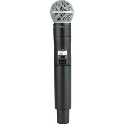 Shure ULXD2 Handheld Transmitter with SM58 Microphone Capsule