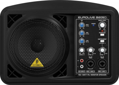 Behringer B205D 150W Pa Active Monitor