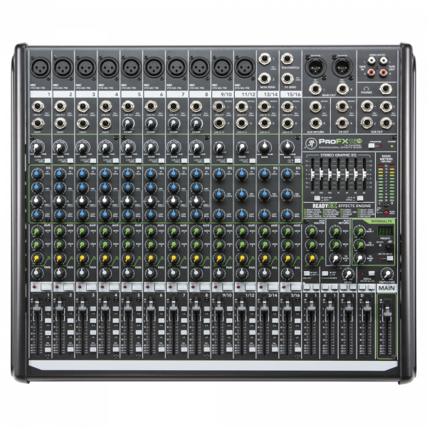 Mackie ProFX12v2 12-channel Mixer with USB and Effects