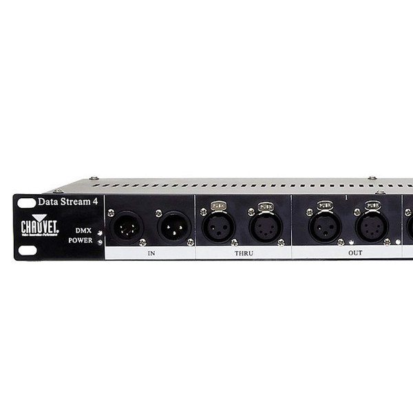 CHAUVET DJ Data Stream 4 Universal DMX-512 Optical Splitter w/4 Out / Single in