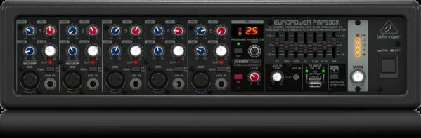 Behringer PMP550M Europower 500-Watts 5-Channel Powered Mixer