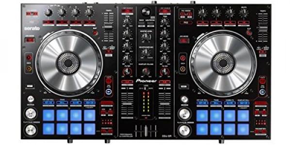 Pioneer DJ DDJ-SR Bus-Powered 4-Deck DJ Controller w/ 2
