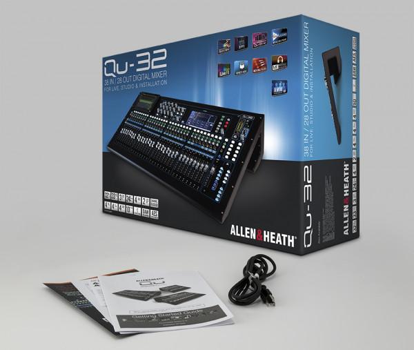 Allen & Heath Qu-32 38-In/28-Out Digital Mixing Console Mixer