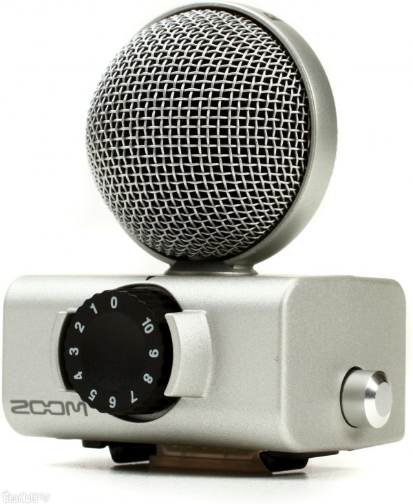 Zoom Msh6 Mid Size Capsule For H5 And H6 Recorders