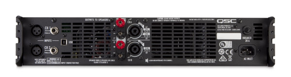 QSC GXD8 Class D Power Amplifier with DSP