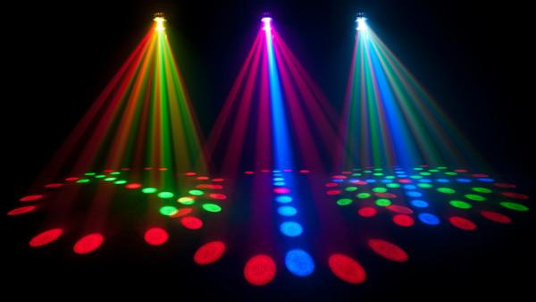 Chauvet LX-5 RGB LED Moonflower Effect Light - DJ Effect