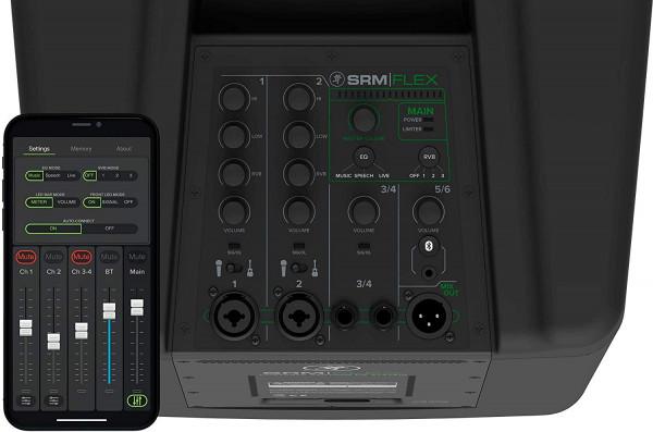 "Mackie SRM-Flex 1,300-watt Column PA System with 10"" Subwoofer, 6x2"" Line Array"