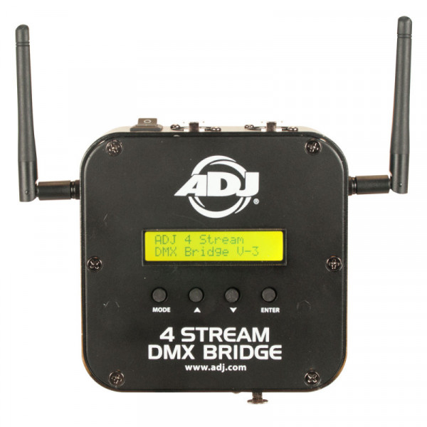 ADJ American DJ 4 STREAM DMX Bridge 4-Universe Wifi Interface