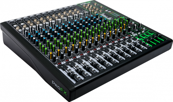 Mackie ProFX16v3 16-Channel 4-Bus Effects Mixer w/ USB