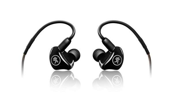 Mackie In- Ear Headphones & Monitors, Dual Driver (MP-220)