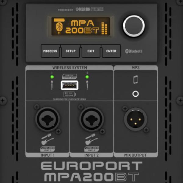Behringer Europort MPA200BT 8