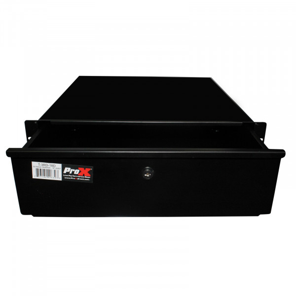 "ProX T-3RD-18MK2 Rack Drawer 18"" Deep 3U Space Heavy Duty"