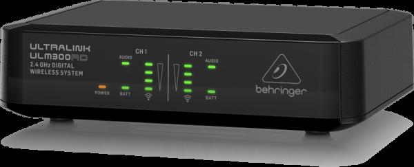 behringer ultralink ulm302mic 2 4 ghz wireless microphone system dual channel. Black Bedroom Furniture Sets. Home Design Ideas